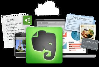 La familia de aplicaciones de Evernote, para recordarlo todo