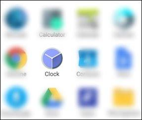 clock app open kare