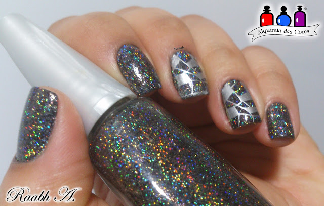Glitter Galaxy Preto, Cosmay, BPX-L020, Raabh A.,