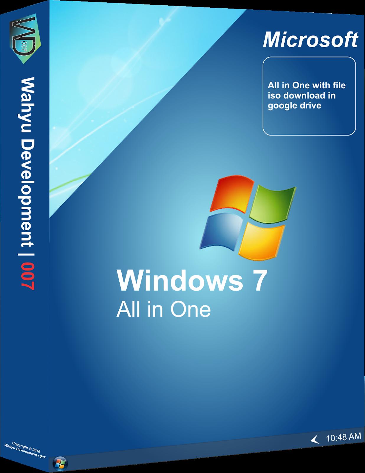 windows 7 iso image google drive