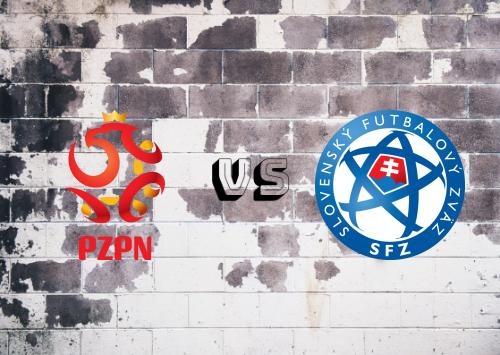 Polonia vs Eslovaquia  Resumen y Partido Completo