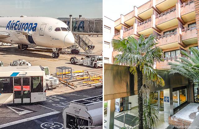 Conexão em Madri e Hotel Tryp Madrid Alameda Aeropuerto