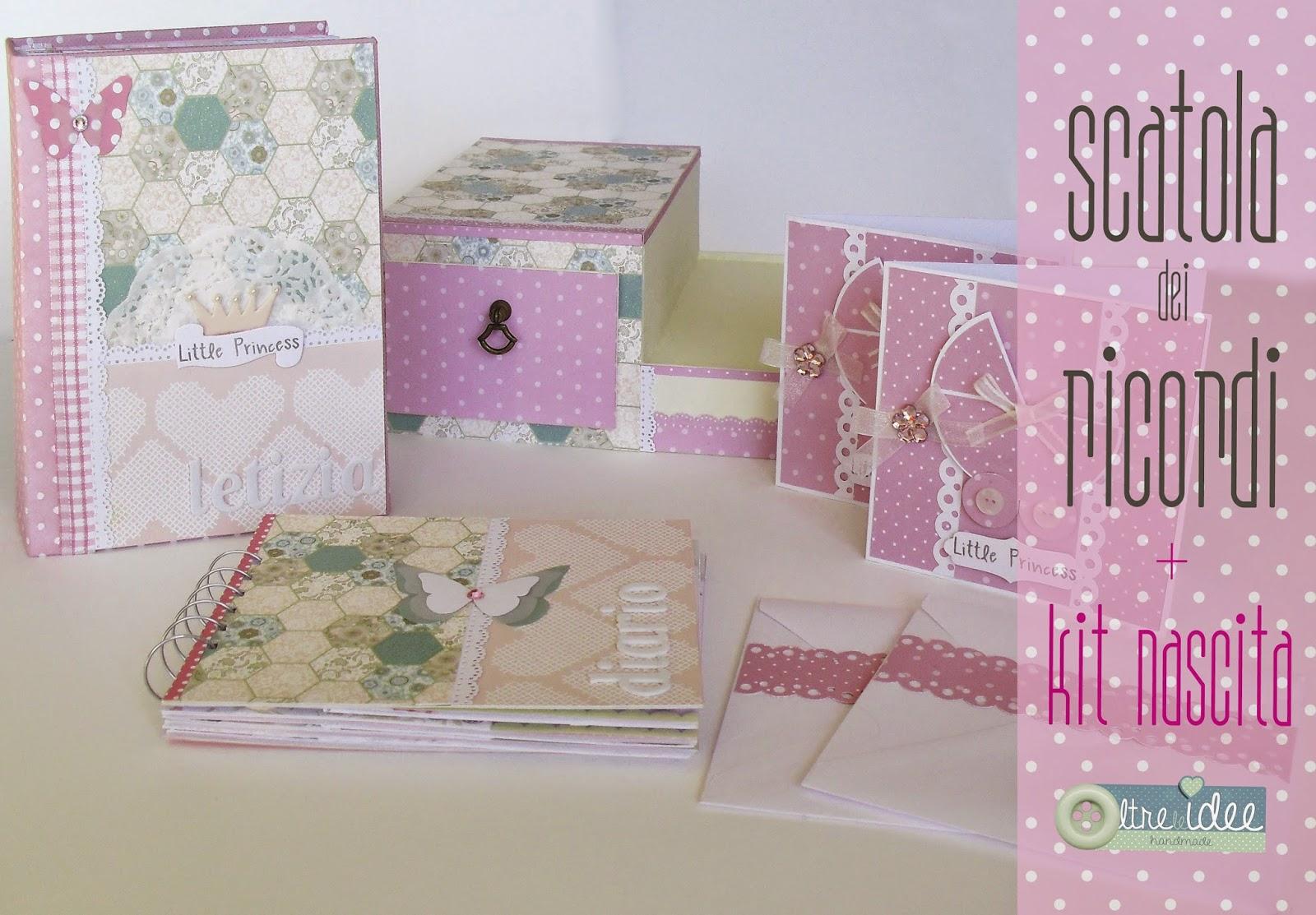 Preferenza Kit nascita: album + diario gravidanza + scatola dei ricordi +  HA15
