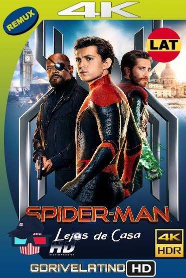 Spider-Man: Lejos de Casa (2019) BDRemux 4K HDR Latino-Ingles MKV