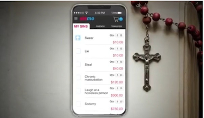 Sinmo App Let You Pay for Wages of Sin.