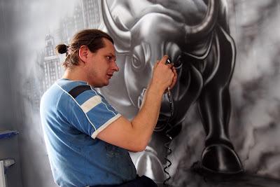 Artystyczne malowanie ścian, malowanie obrazów na ścianach, murale 3D