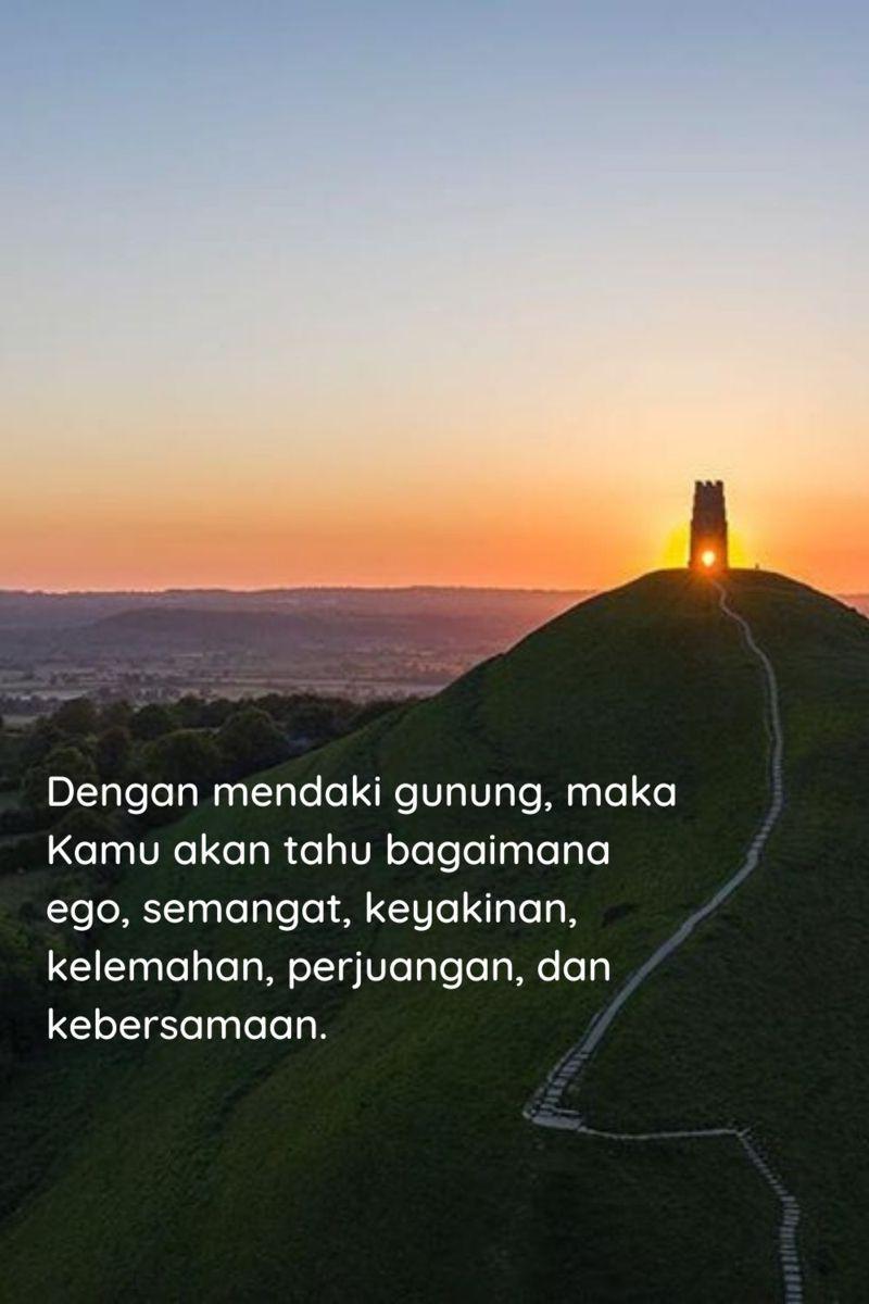 30 Kata Kata Sunrise Di Gunung Yang Bikin Semangat Dengan Gambar Pustaka Quotes