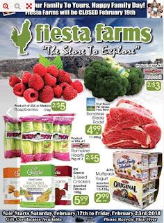 Fiesta Farms Flyer February 17 - 23, 2018