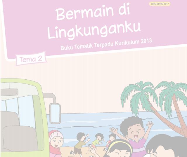 Buku Siswa Kelas 2 SD/MI Tema 2: Bermain di lingkunganku