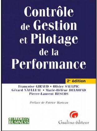 Contrôle de Gestion et Pilotage de la Performance Livre PDF