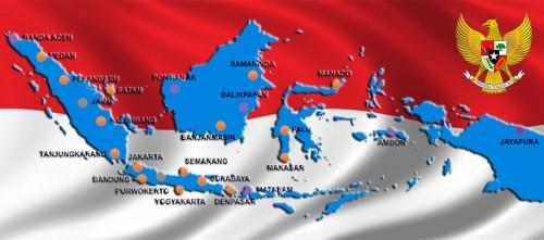 Peta Otonomi Daerah Indonesia