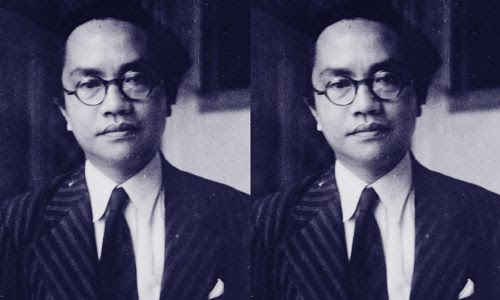 Foto Biograf, Profil dan Biodata Amir Sjarifoeddin Harahap Si Tokoh Muda Komunis - www.heru.my.id