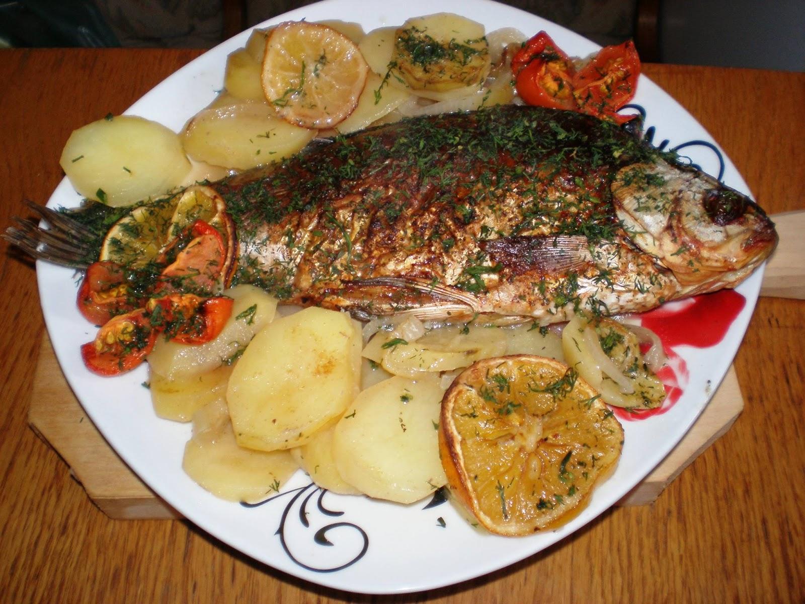 Pește, legume și vin alb