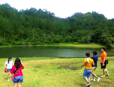 green lake danum sagada, little pinay explorer, lake in PH
