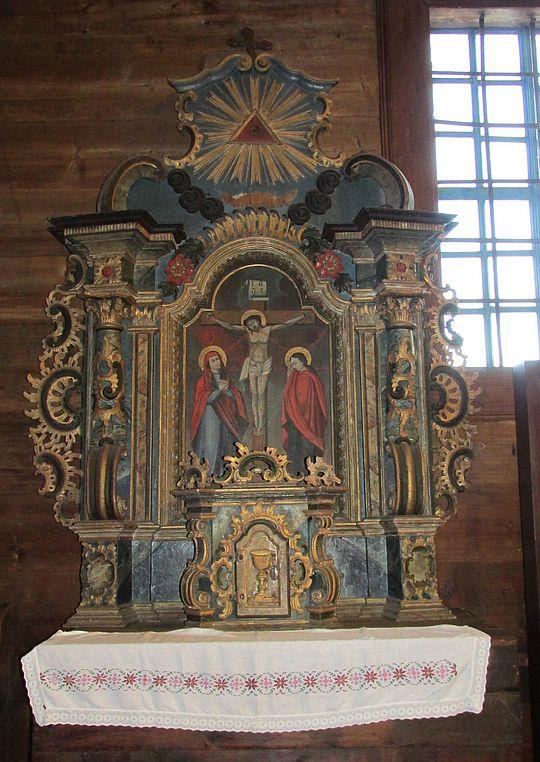 Ołtarz boczny z 1797 roku.