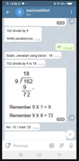 Cara Menggunakan Bot Matematika Telegram Ternyata Begini