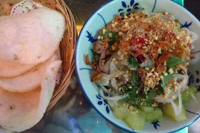 Mrs Pho, beef starfruit salad