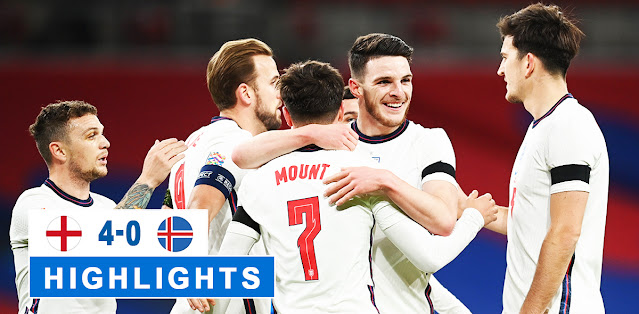England vs Iceland – Highlights
