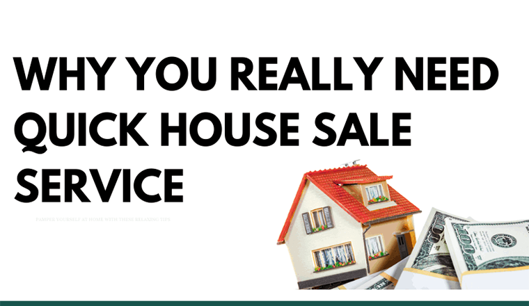 Why You Really Need Quick House Sale Service #infographic