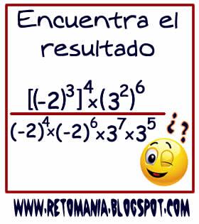 Cuadrados mágicos, Descubre el número, El número que falta, Retos para pensar, Problemas matemáticos, Retos matemáticos, Desafíos matemáticos, Retos de lógica, Problemas para pensar, Potencias y Propiedades