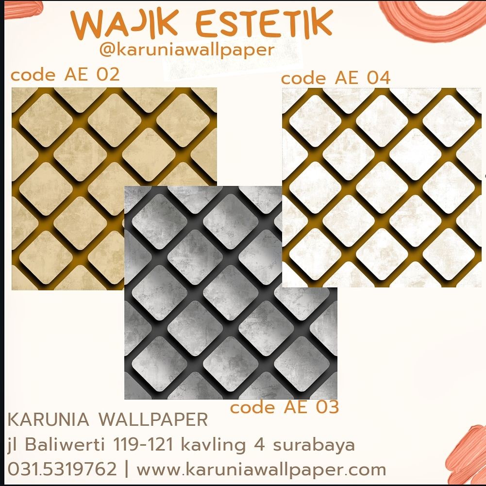 jual wallpaper dinding estetik murah