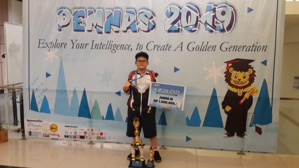 Raymond Christoher Tanto Juara 3 PEMNAS 2019