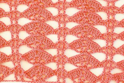 6 - Crochet Imagen Puntada de abanicos especial para el verano por Majovel Crochet