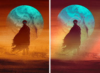 "Dune ""Paul"" Screen Print by Matt Griffin x Bottleneck Gallery"