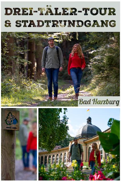 Drei-Täler-Tour und Stadtrundgang Bad Harzburg  Wandern im Harz  Eckerstausee - Radauwasserfall 03