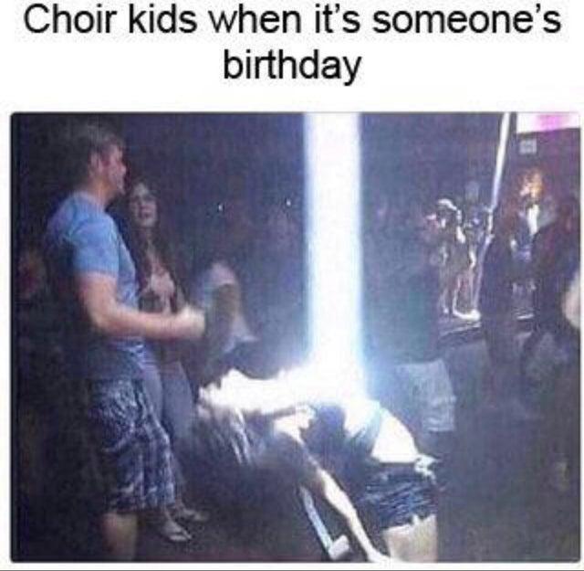 Choir kids are so annoying