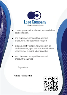 Tampilan Contoh Download Format ID Card Karyawan CorelDraw photohsop 5