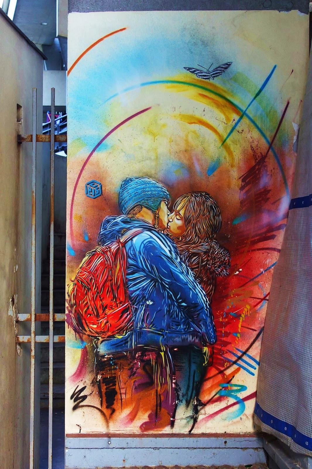 C215 et sa balade au pochoir près et dans le Panthéon Safari+street+art+%C3%A0+vitry+166-001