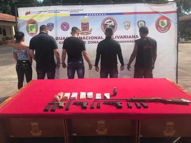 4 muertos y 7 detenidos tras tiroteo con la Guardia Nacional en Amazonas