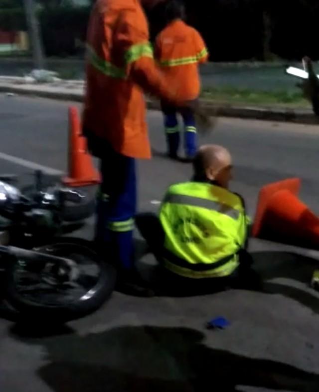 Agentes da Autarquia Municipal de Trânsito são atropelados em blitz da lei seca em Fortaleza