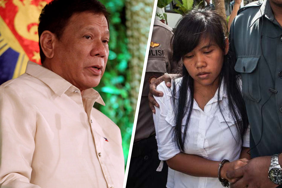 "Duterte gave his ""go-ahead"" signal for Mary Jane Veloso's execution"