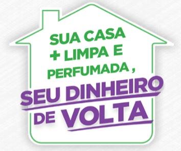 Cadastrar Promoção Sua Casa + Limpa e Perfumada Bom Ar e Harpic