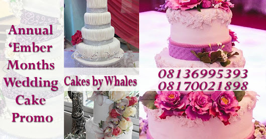 'EMBER MONTHS PROMO! CAKES BY WHALES IS GIVING OUT A FREE ANNIVERSARY CAKE FOR EVERY ASPIRING BRIDE...