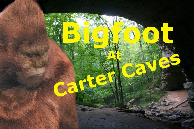 Bigfoot at Carter Caves