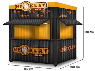 Jasa Pembuatan Booth Container yang murah dan terjangkau