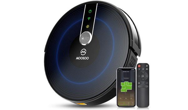 MOOSOO Smart WiFi Robotic Vacuum Cleaner