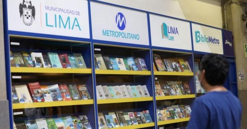 Bibliometro de Lima reanudó atención presencial en todas sus sedes del METROPOLITANO