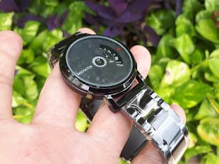 Jam Tangan Unik Micocoa MC1825 Creative Ball Rotation Men Watches Sports Quartz Wristwatches