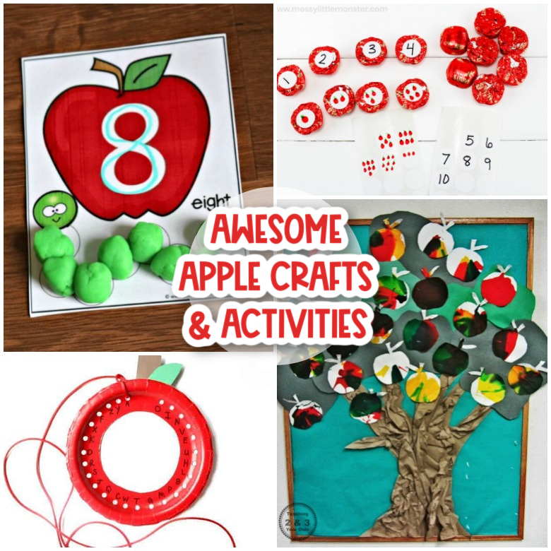 apple crafts and activities