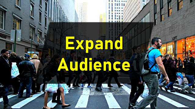 increase audience or traffic