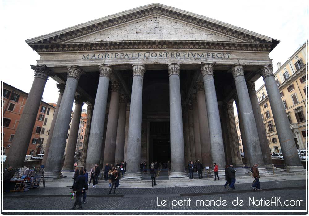 panthéon Rome architecture