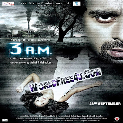 Cover Of 3: AM: The Hour of the Dead (2014) Hindi Movie Mp3 Songs Free Download Listen Online At worldfree4u.com
