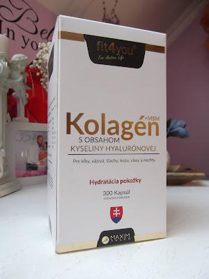 Kolagén s obsahom kyseliny hyalurónovej fit4you