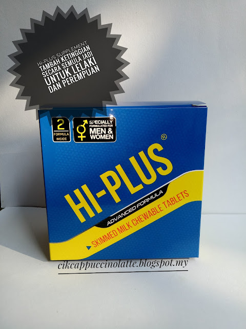 Hi-plus, supplement hi-plus, hi-plus tambah tinggi, review produk , review supplement hi-plus, makanan tambahan untuk ketinggian badan