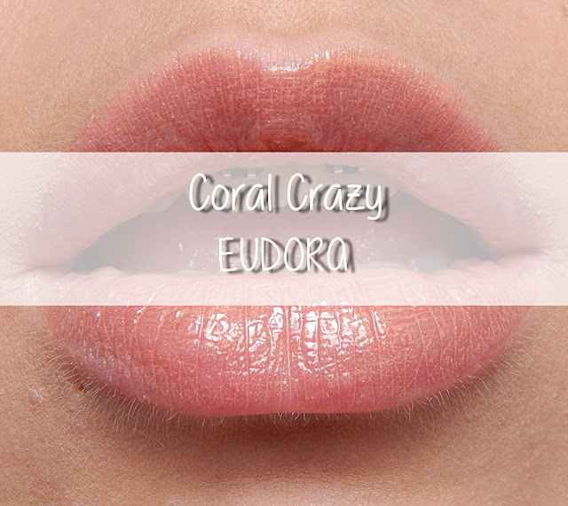 coral crazy brilho labial