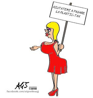 tassa sulla plastica, plastic tax, tasse, manovra, finanziaria, def, economia, umorismo, vignetta, satira
